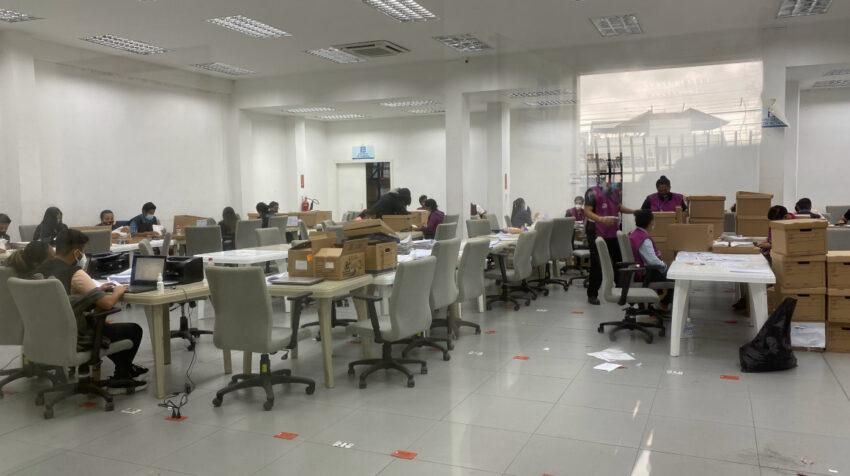 Centro de digitalización de actas de Guayas.