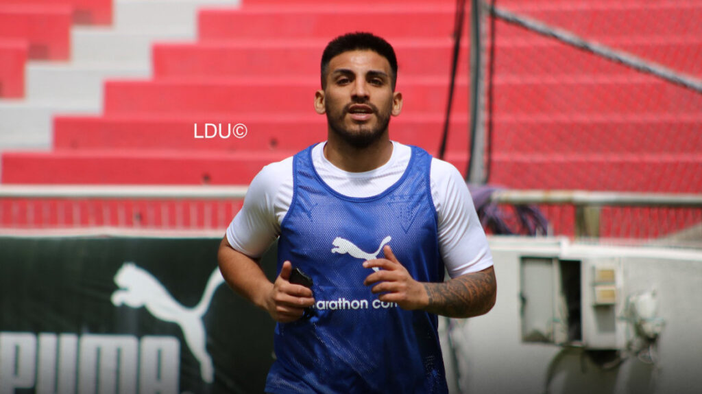 Juan Cruz Kaprof usará el dorsal número 9 en Liga de Quito