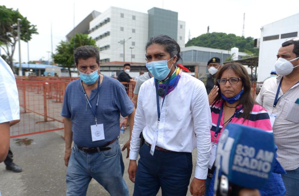 Yaku Pérez califica de vergonzoso al proceso electoral