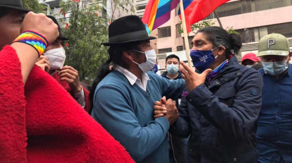 Yaku Pérez desconoce resultado y pide reconteo voto a voto
