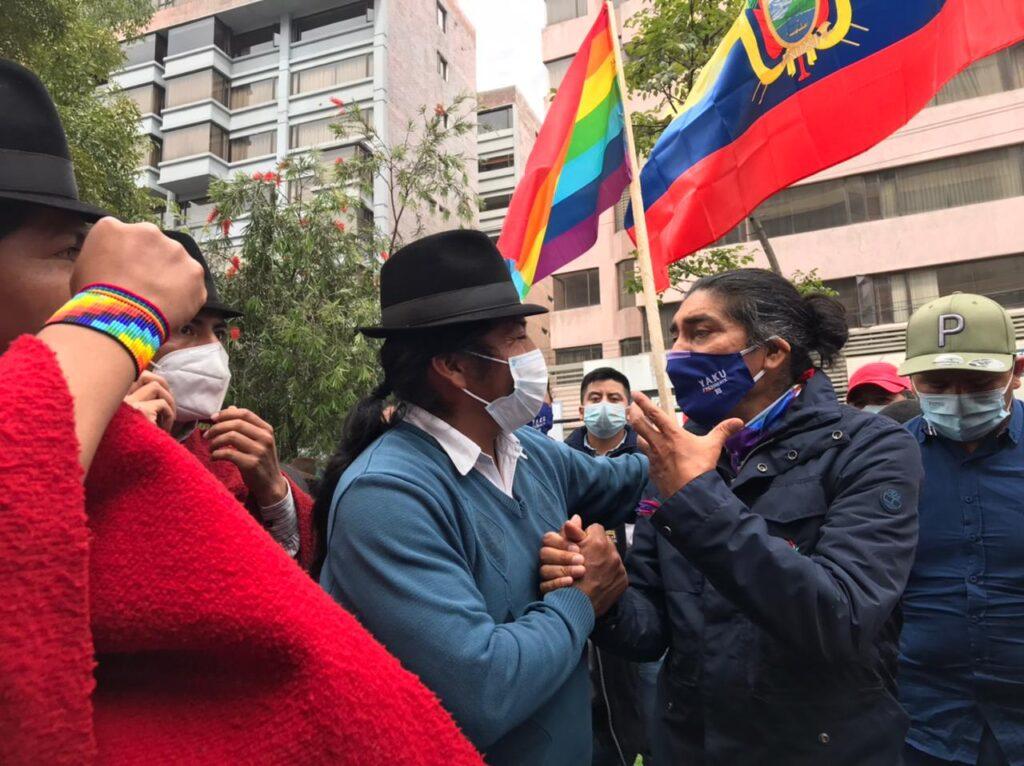 Pachakutik evalúa acudir a cortes internacionales tras fallo del TCE