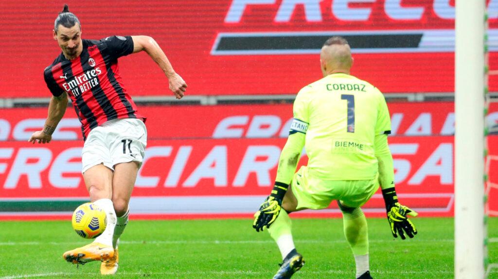Zlatan Ibrahimovic superó los 500 goles en su carrera en clubes