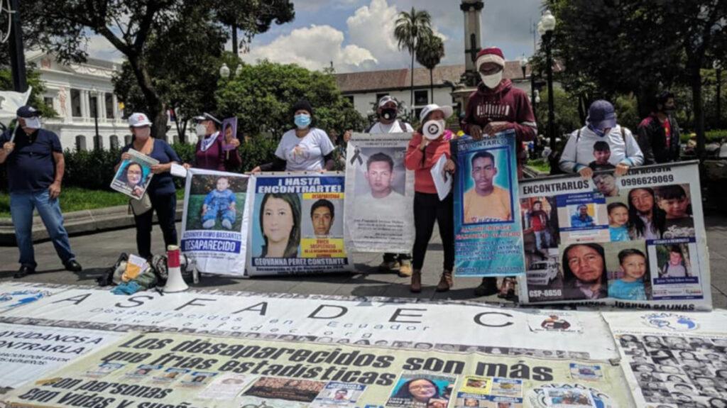 Ecuador: problemas familiares son la causa del 43% de desapariciones
