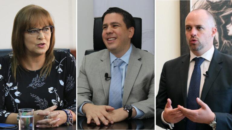 Sandra Argotty, Nicolás Issa y Andrés Isch liderarán el Comité de Transición de Gobierno.Sandra Argotty, Nicolás Issa y Andrés Isch liderarán el Comité de Transición de Gobierno.