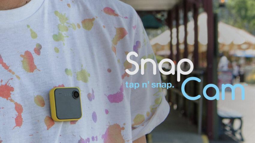 Vista de la cámara de Snap Cam.