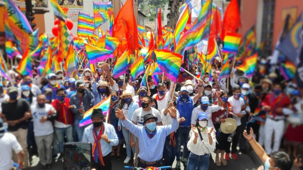 Pachakutik convoca a movilización para defender votación de Pérez