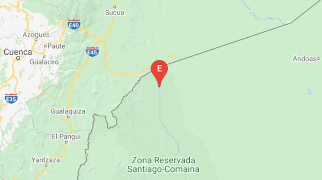 Un sismo de 4,62 grados se registró en la frontera con Perú