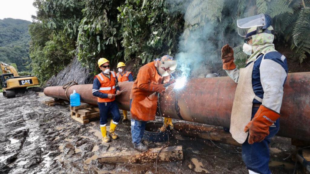 Erosión: Petroecuador paralizará la operación del SOTE durante 24 horas