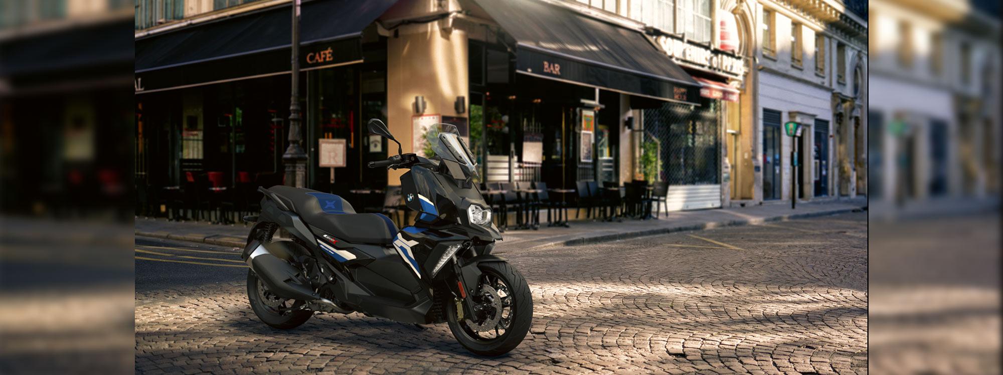 BMW Motorrad presenta las nuevas versiones de C 400 y C 400 GT