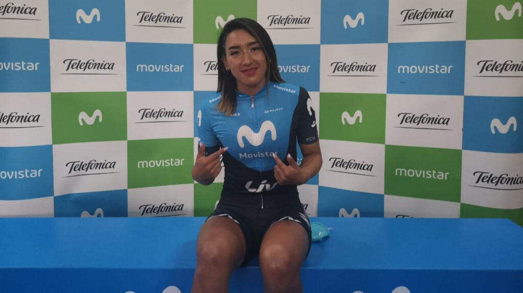 Miryam Núñez es el nuevo refuerzo del Movistar Team Ecuador