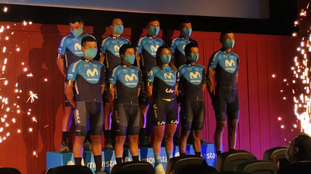 El objetivo del Movistar Team en 2021 es ganar la Vuelta al Ecuador