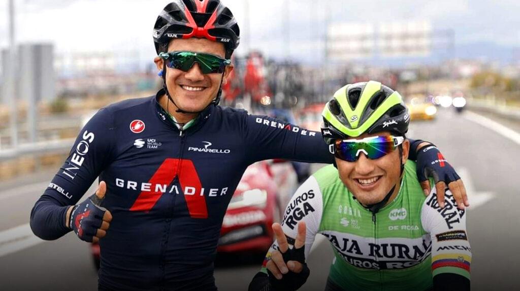 Richard Carapaz y Jefferson Cepeda correrán el Gran Premio Miguel Indurain