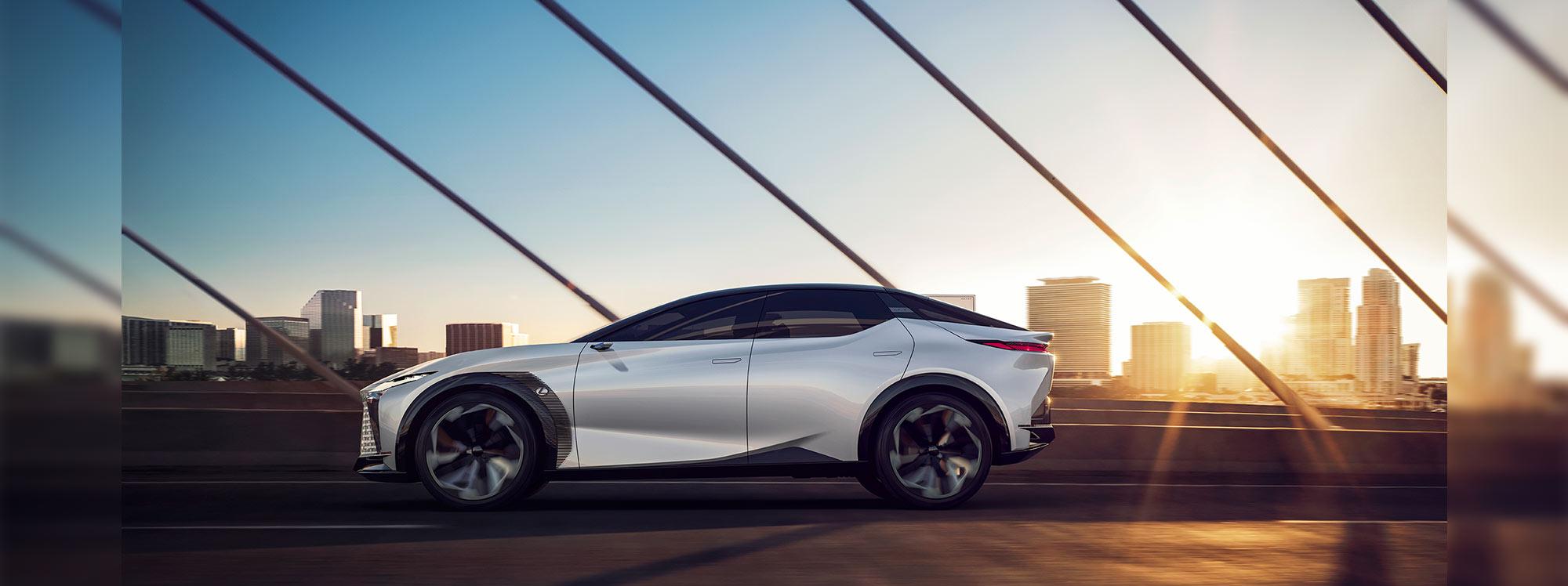 Lexus acelera el futuro de la electrificación con el LF-Z