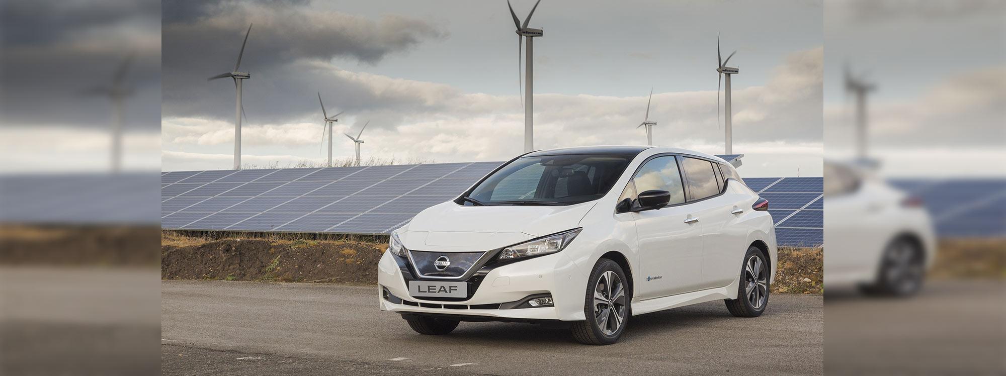 Nissan mantiene su compromiso con la sostenibilidad ambiental