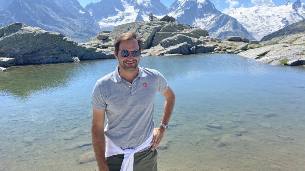 Roger Federer presta su imagen para promocionar el turismo a Suiza