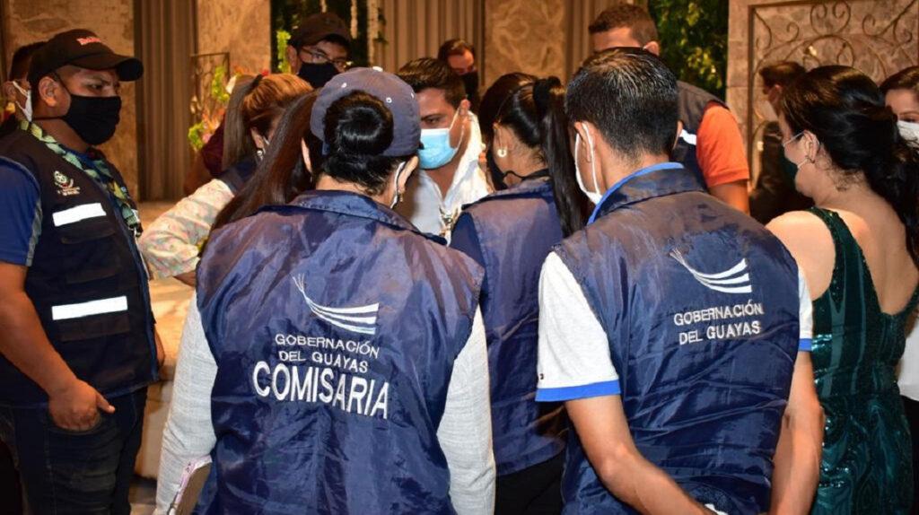 Gobernación del Guayas sanciona a hotel por evento con 300 personas