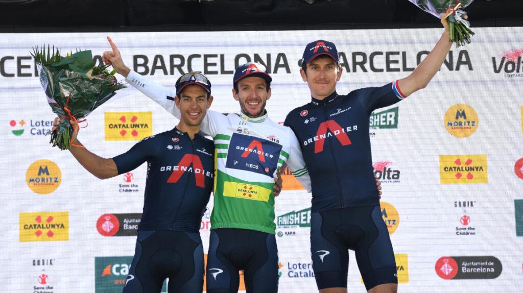 Yates se lleva el título y el Ineos es el mejor equipo en Catalunya