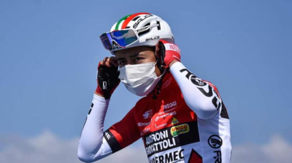 Alexander Cepeda termina en puesto 16 en la Settimana Coppi e Bartali