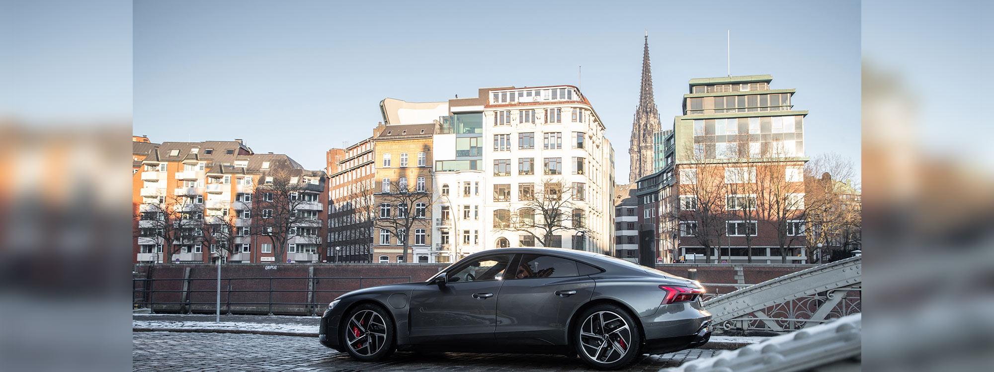 Audi quiere generar llantas de  aluminio sostenible para el Audi e-tron GT
