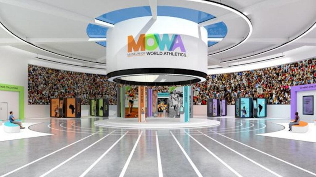 Mowa, el museo virtual gratuito en 3D que cuenta la historia del atletismo