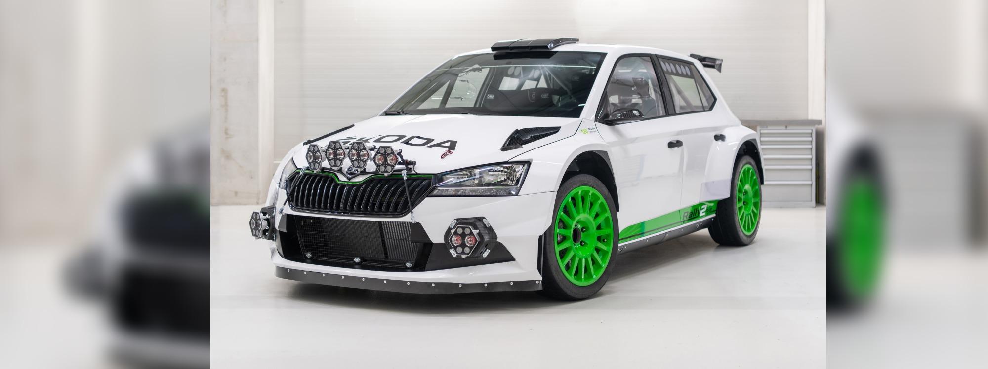 Skoda celebra sus 120 años de competición con el  Fabia Rally2 Evo