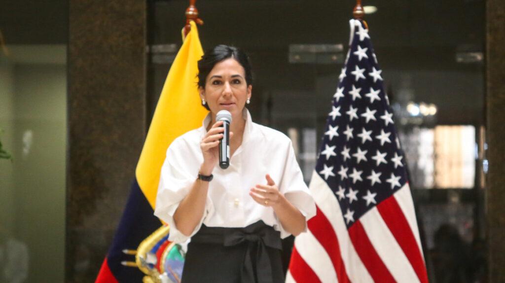 María Alejandra Muñoz, la vicepresidenta imperceptible