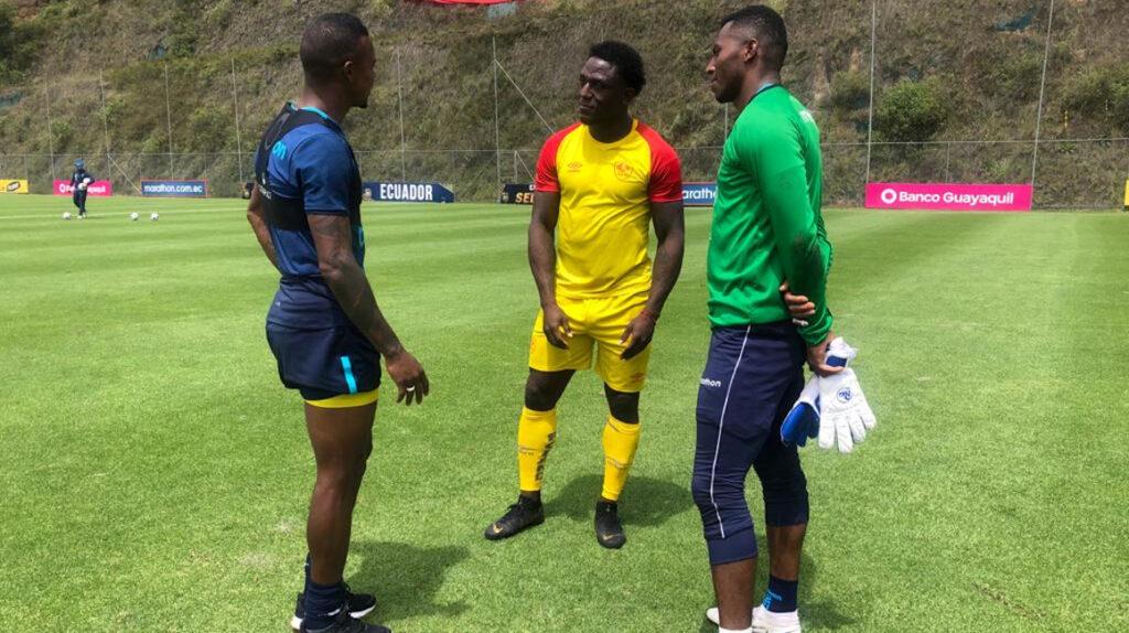 La selección ecuatoriana empata ante Aucas en un amistoso