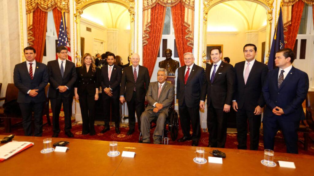 Comité del Senado de Estados Unidos da espaldarazo a relación con Ecuador