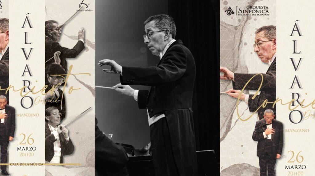 Álvaro Manzano se despide de la Sinfónica Nacional con un concierto