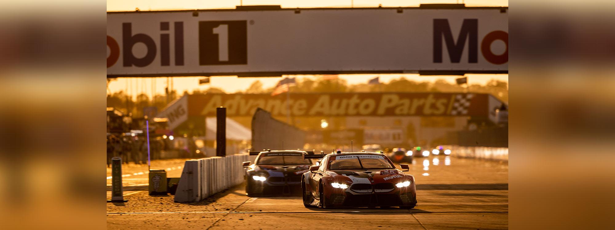 BMW gana un doble podio en la carrera de 12 horas de Sebring