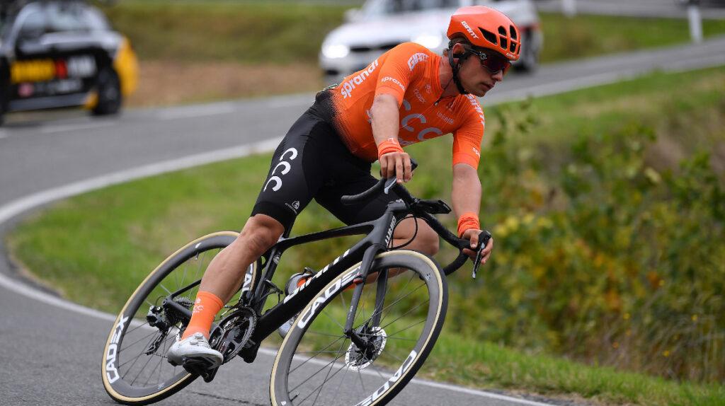 Jakub Mareczko se llevó la Etapa 1 de la Settimana Coppi e Bartali