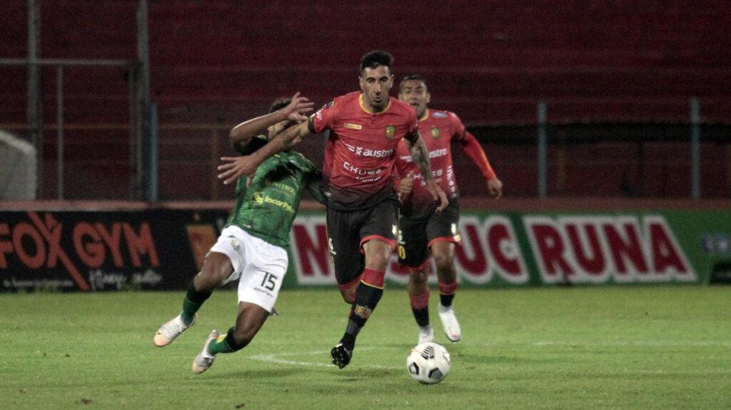 Diego Dorregaray le da la victoria al Cuenca en el cierre de la Fecha 5