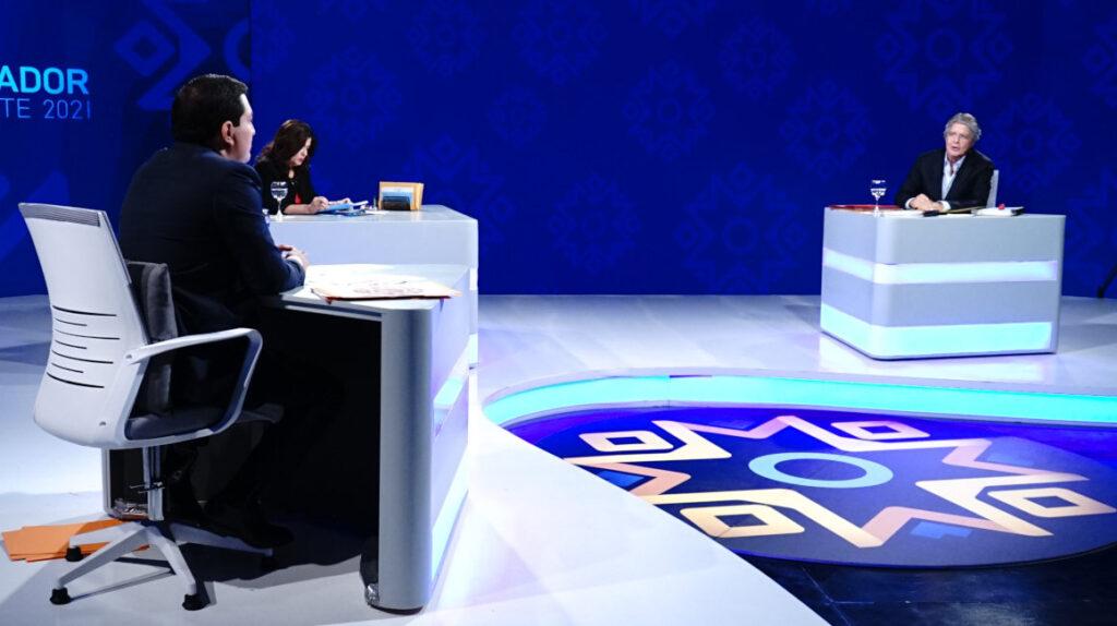 Lasso y Arauz alimentan el segundo round del debate en sus redes sociales