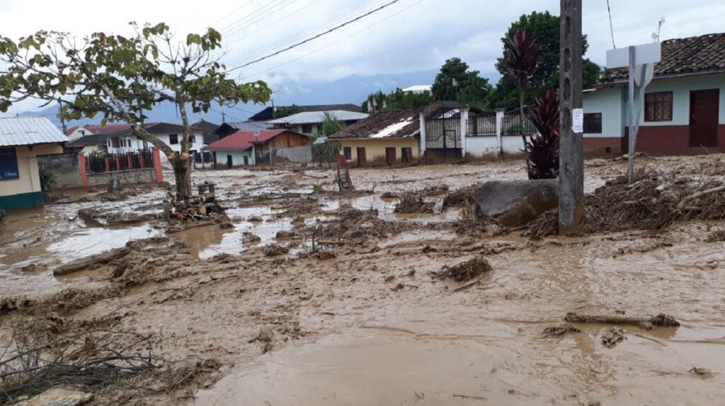 Lluvias causan inundaciones en provincias amazónicas