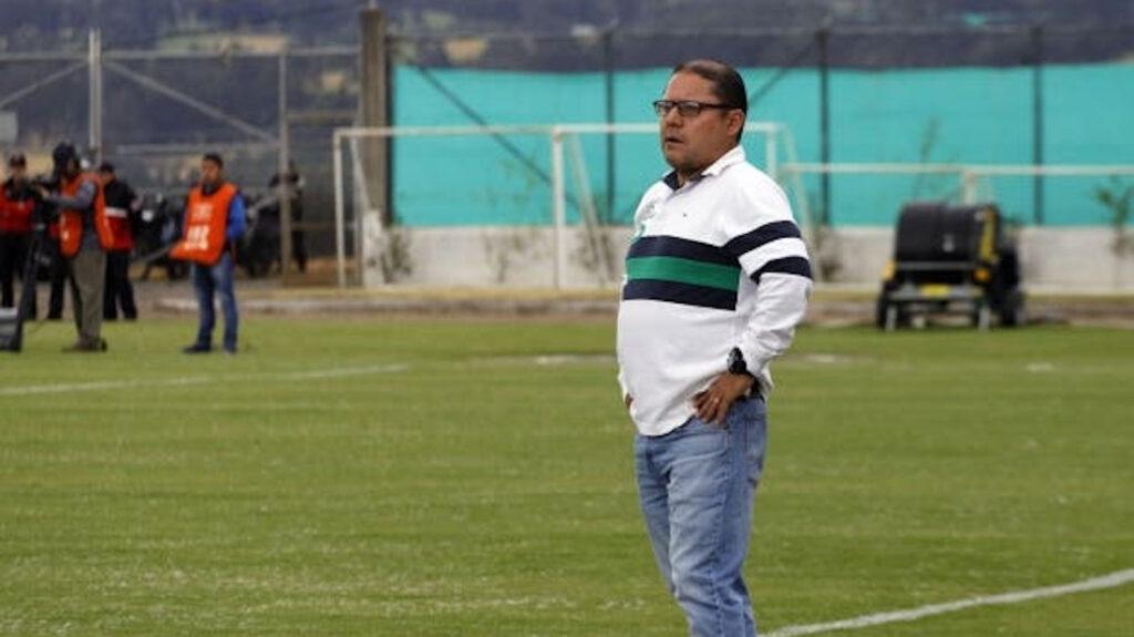 Luis Espinel fue presentado como nuevo entrenador de Deportivo Quito