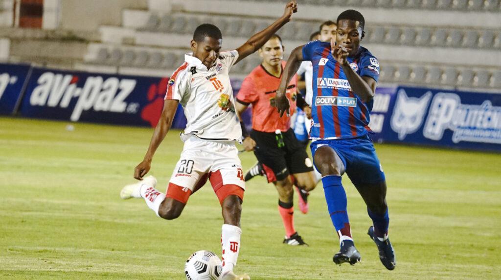 T. Universitario y Olmedo todavía no conocen la victoria en la LigaPro 2021
