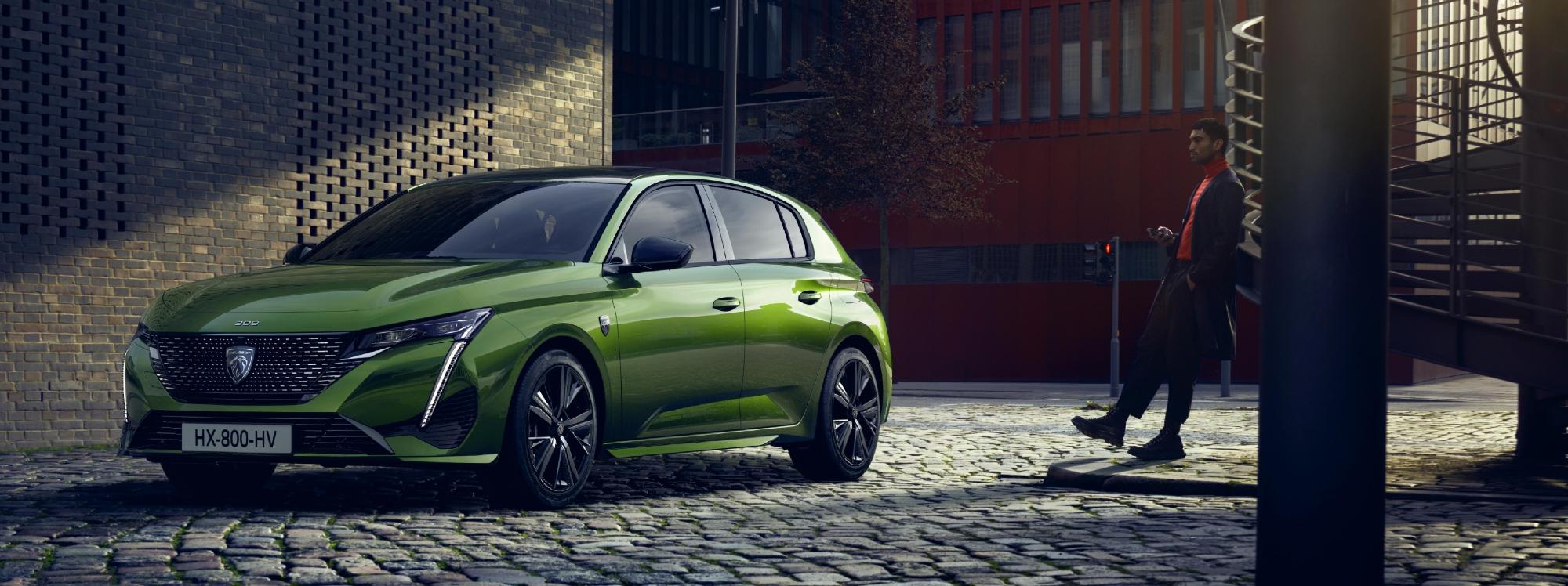 La nueva cara de Peugeot, el modelo 08