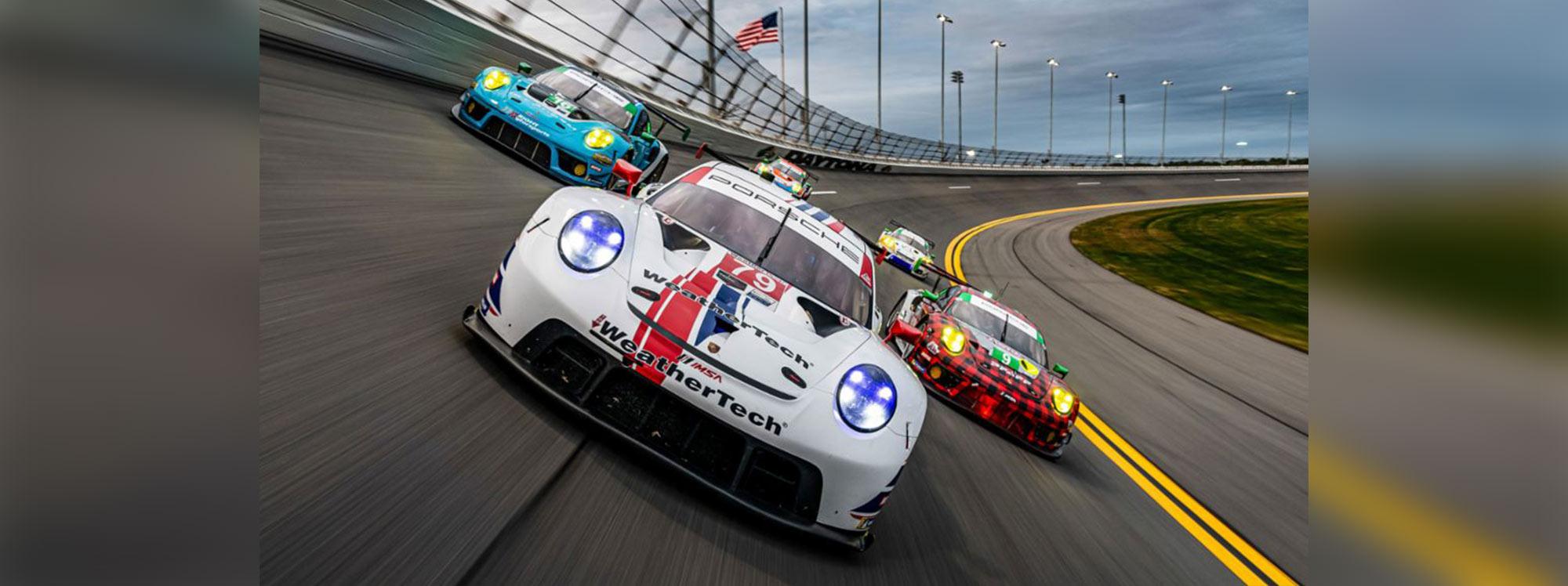 Wright Motorsports de Porsche empezó con pie derecho en las carrera de 12 horas de Sebring