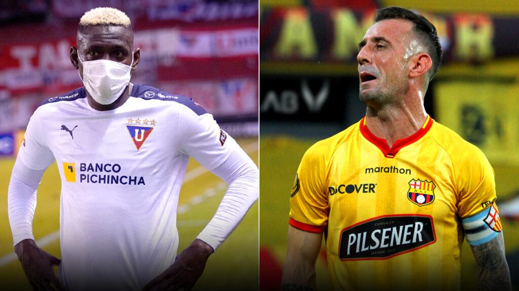 Liga de Quito y Barcelona jugarán el partido 53 en el Rodrigo Paz Delgado