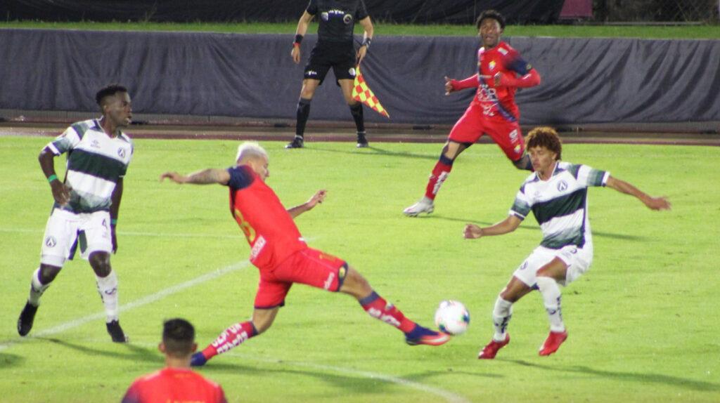 El Nacional empató ante América en su debut en la Serie B
