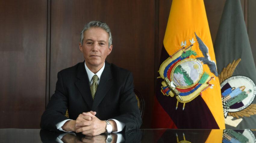 El general Juan Carlos Rueda, cuando era director del Isspol.