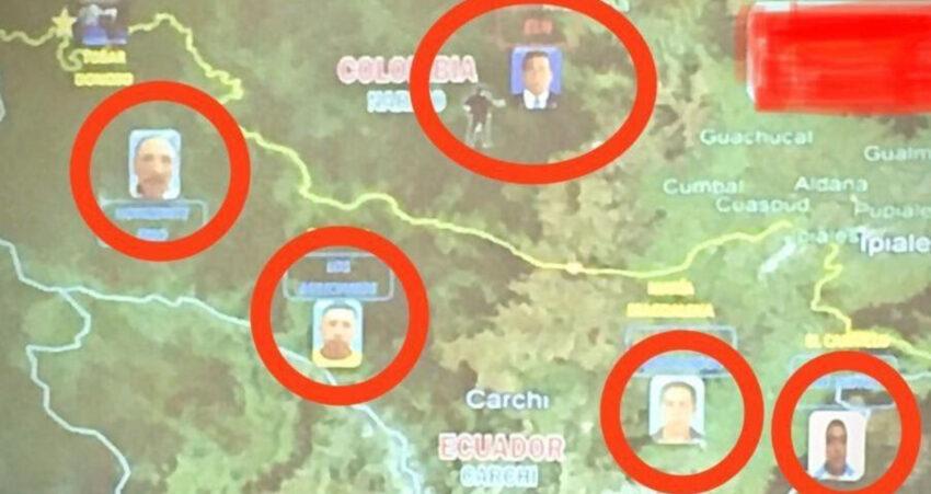 Cuatro integrantes del ELN lideran acciones en distintos sectores de Carchi, según informes de Inteligencia. Son parte del Frente Comuneros del Sur.