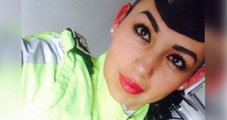 La cadete ecuatoriana Erika Chicó fue una de las 22 personas fallecidas en el atentado terrorista del ELN con un coche bomba en la Escuela de Policía, en Bogotá, en enero de 2019.