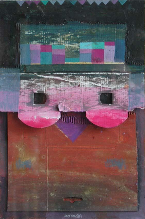 'Máscara # 2', de Vicente Rojo