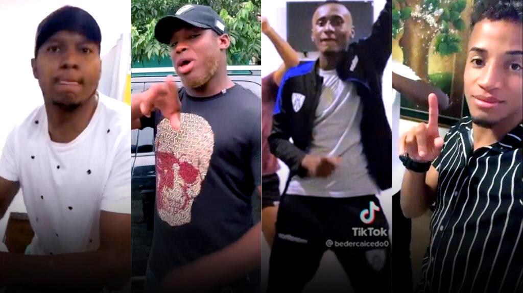 Los futbolistas ecuatorianos también se unen a la moda de TikTok