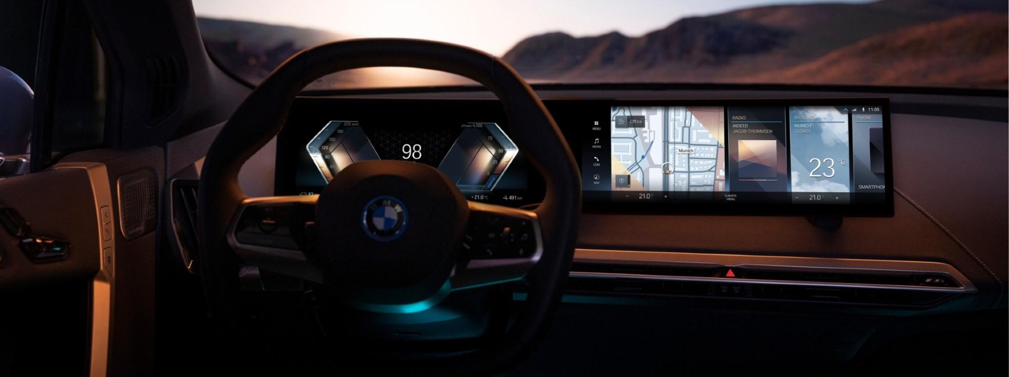 BMW iDrive: su vehículo será su nuevo socio digital