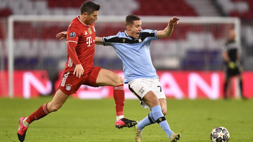 El Bayern Múnich elimina de la Champions a la Lazio de Felipe Caicedo