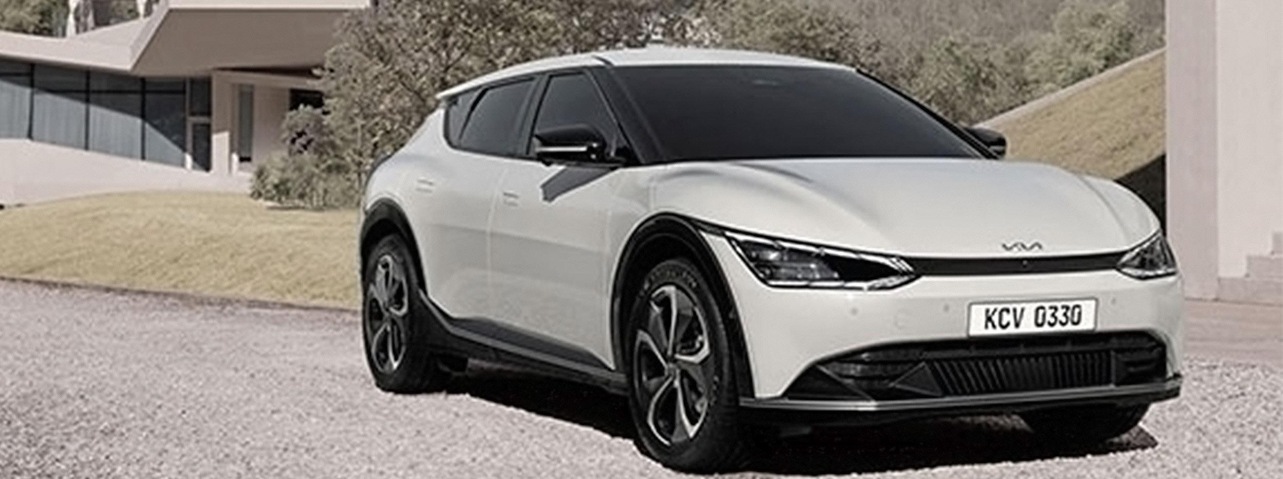 Kia presenta un adelanto del nuevo EV 6 completamente eléctrico