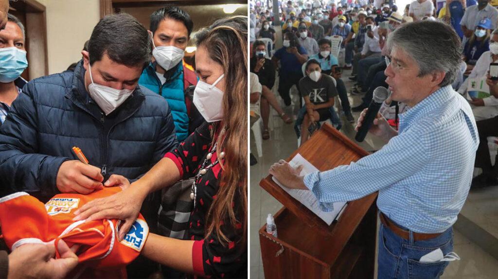 Inicia la campaña: Arauz y Lasso tienen 24 días para conquistar votantes