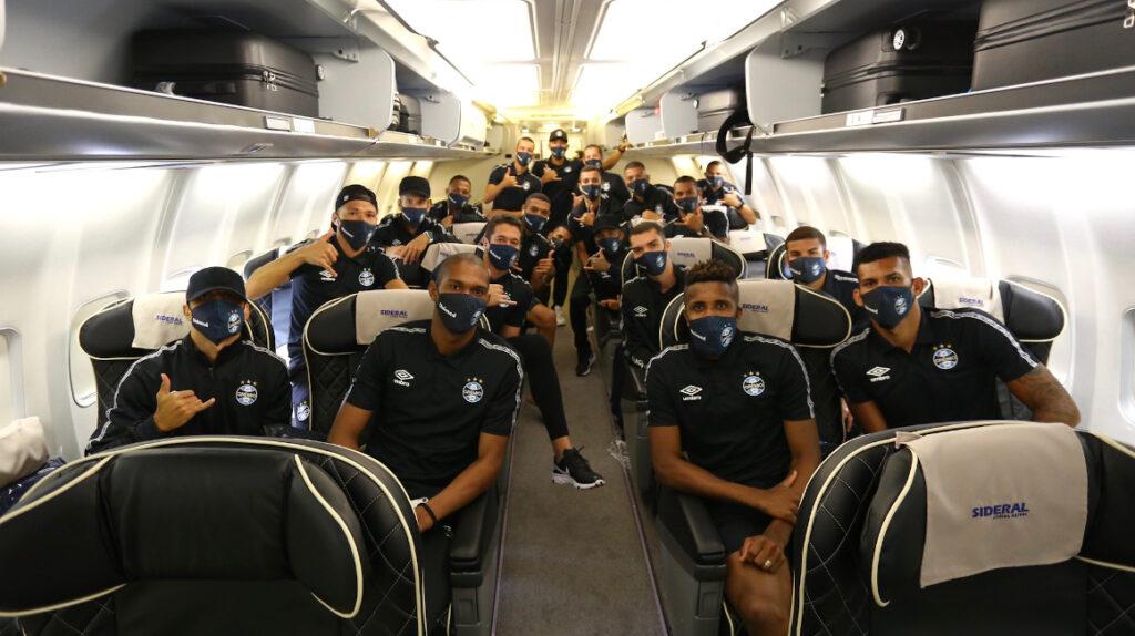 Gremio viaja a Quito con suplentes para jugar la Copa Libertadores
